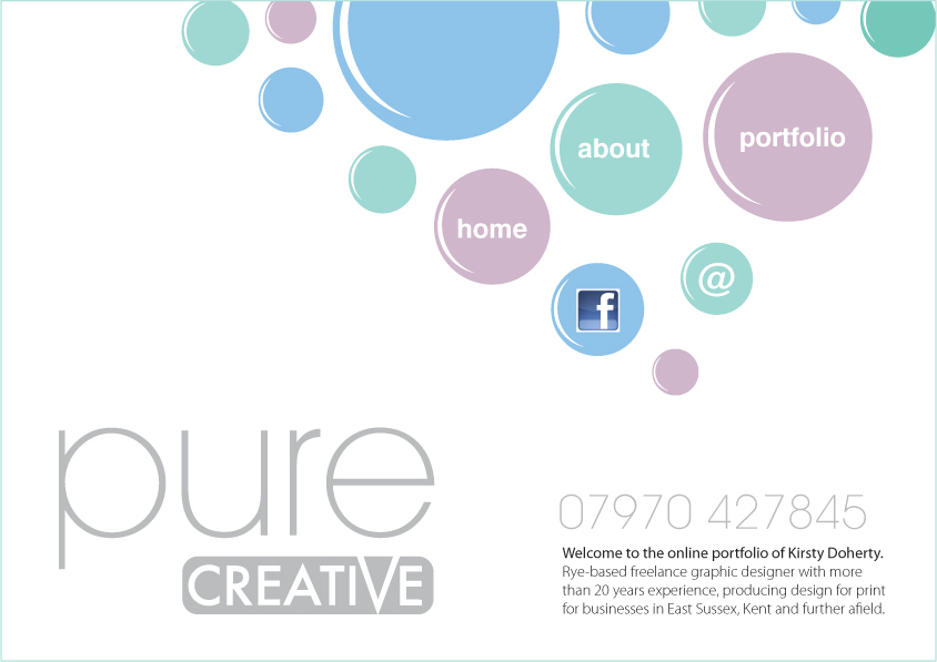 pure creative design graphic design rye east sussex kirsty doherty freelance